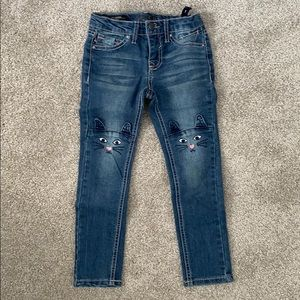 """Vigoss """"The Jagger"""" Skinny Jean 5T with 😺 Knees"""